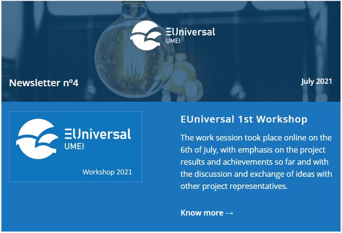 #4 EUniversal Newsletter